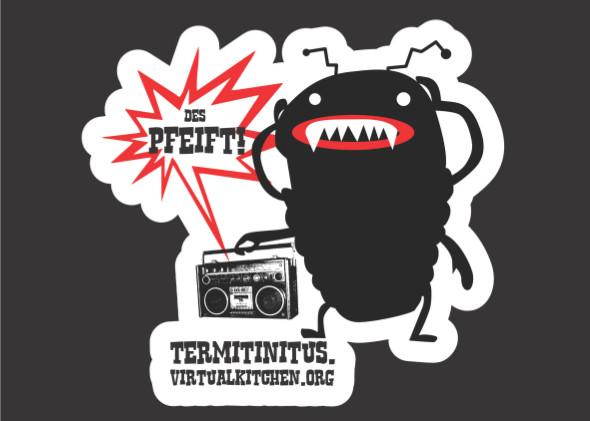 sticker termitinitus_front