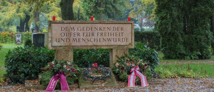 Gedenkfeier für die Opfer des Nationalsozialismus...